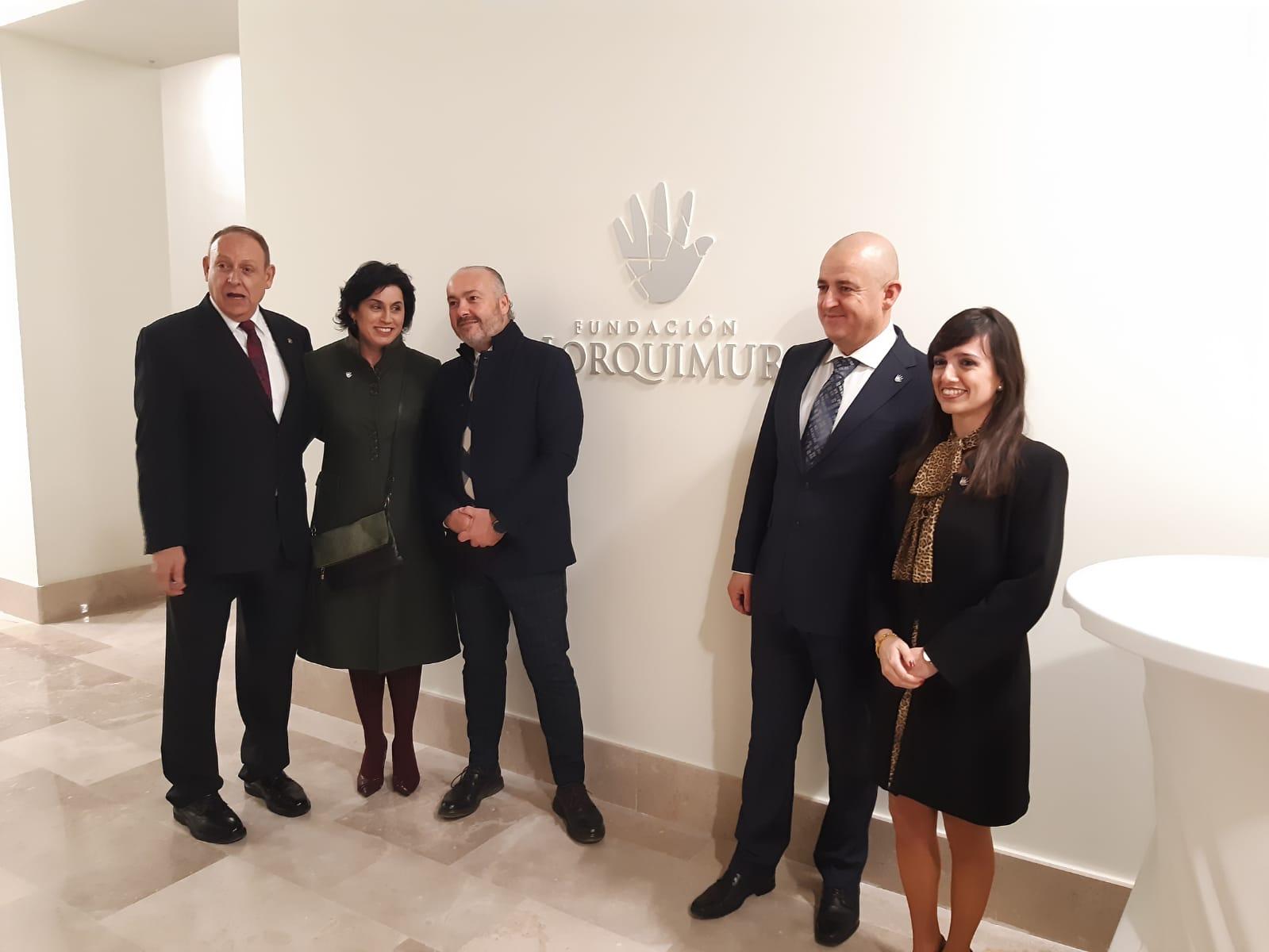Éxito en la inauguración de la Fundación Lorquimur
