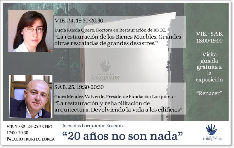 Jornadas Lorquimur Restaura