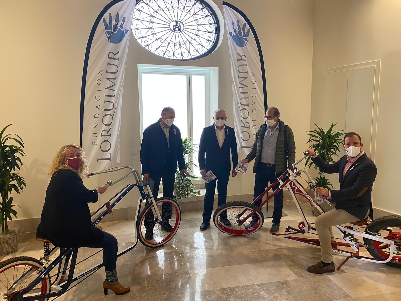 Presentación de las I Jornadas Dinámicas de la Bicicleta en Lorca