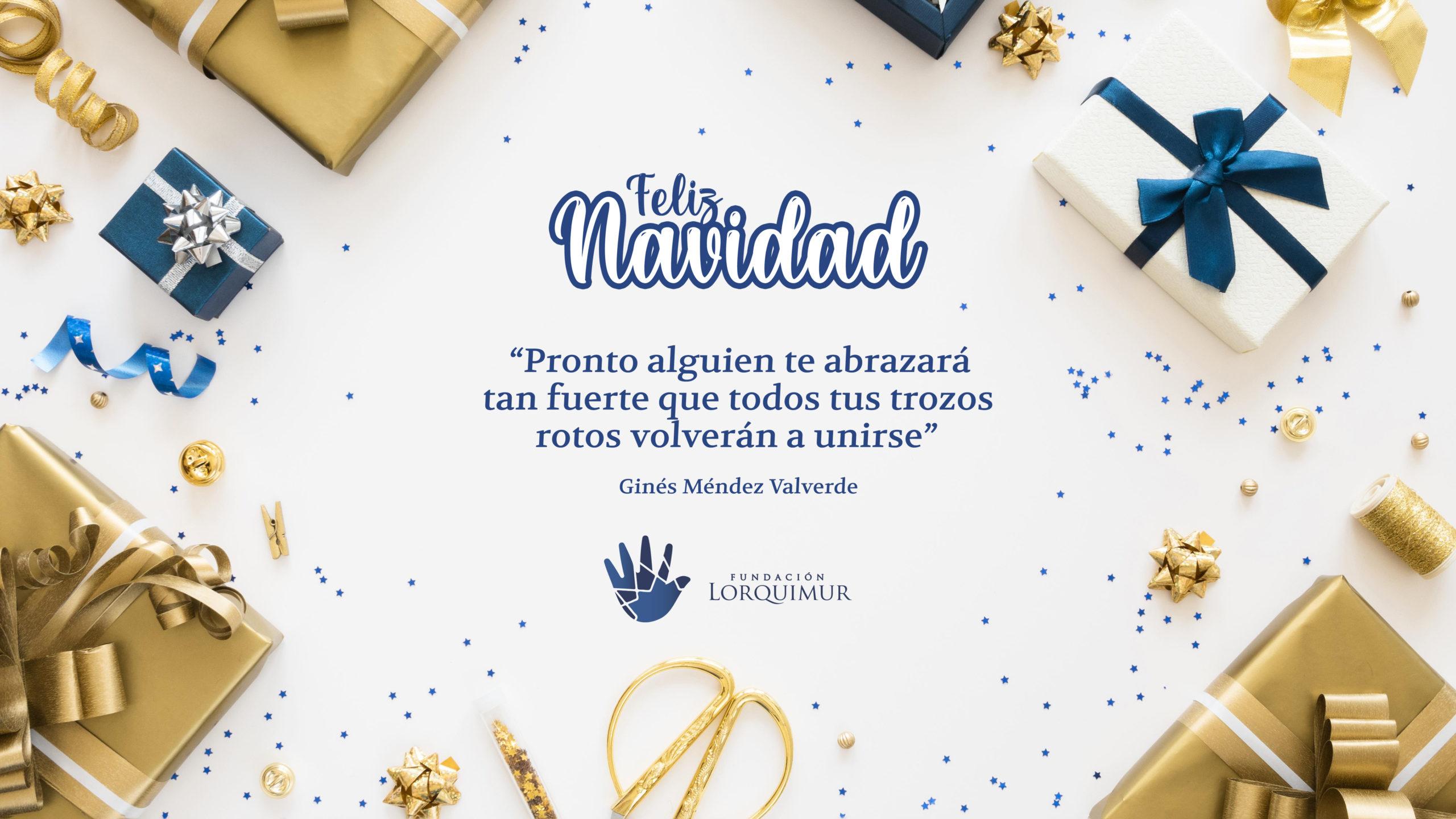 Felicitación Navidad Fundación Lorquimur