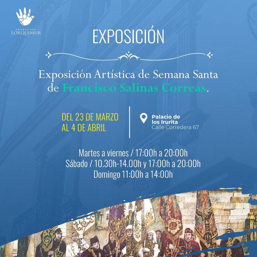 Exposición Artística de la Semana Santa Lorquina de Francisco Salinas Correas 1