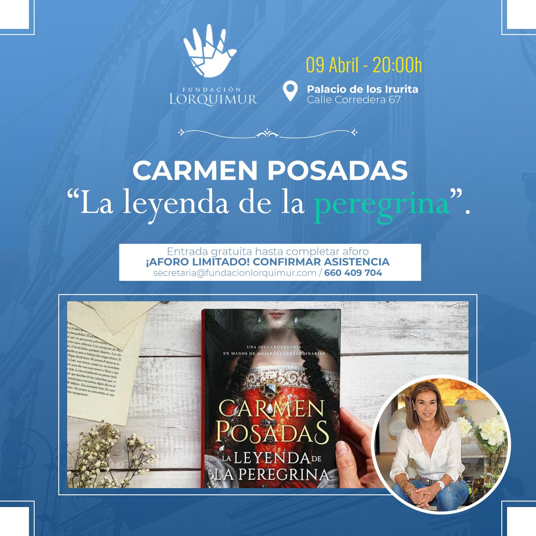 """Carmen Posadas presenta """"La leyenda de la peregrina"""""""