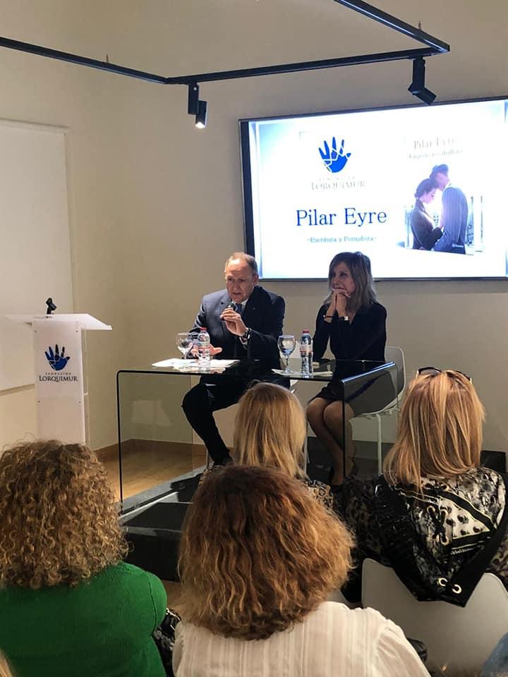 Presentación del libro de Pilar Eyre
