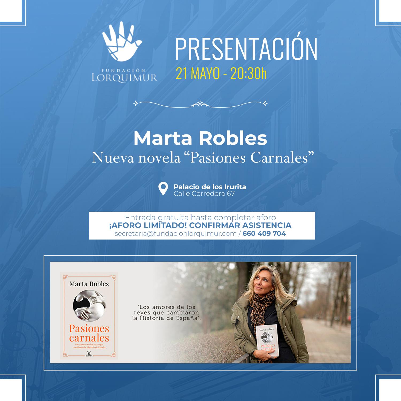 Marta Robles en Lorca