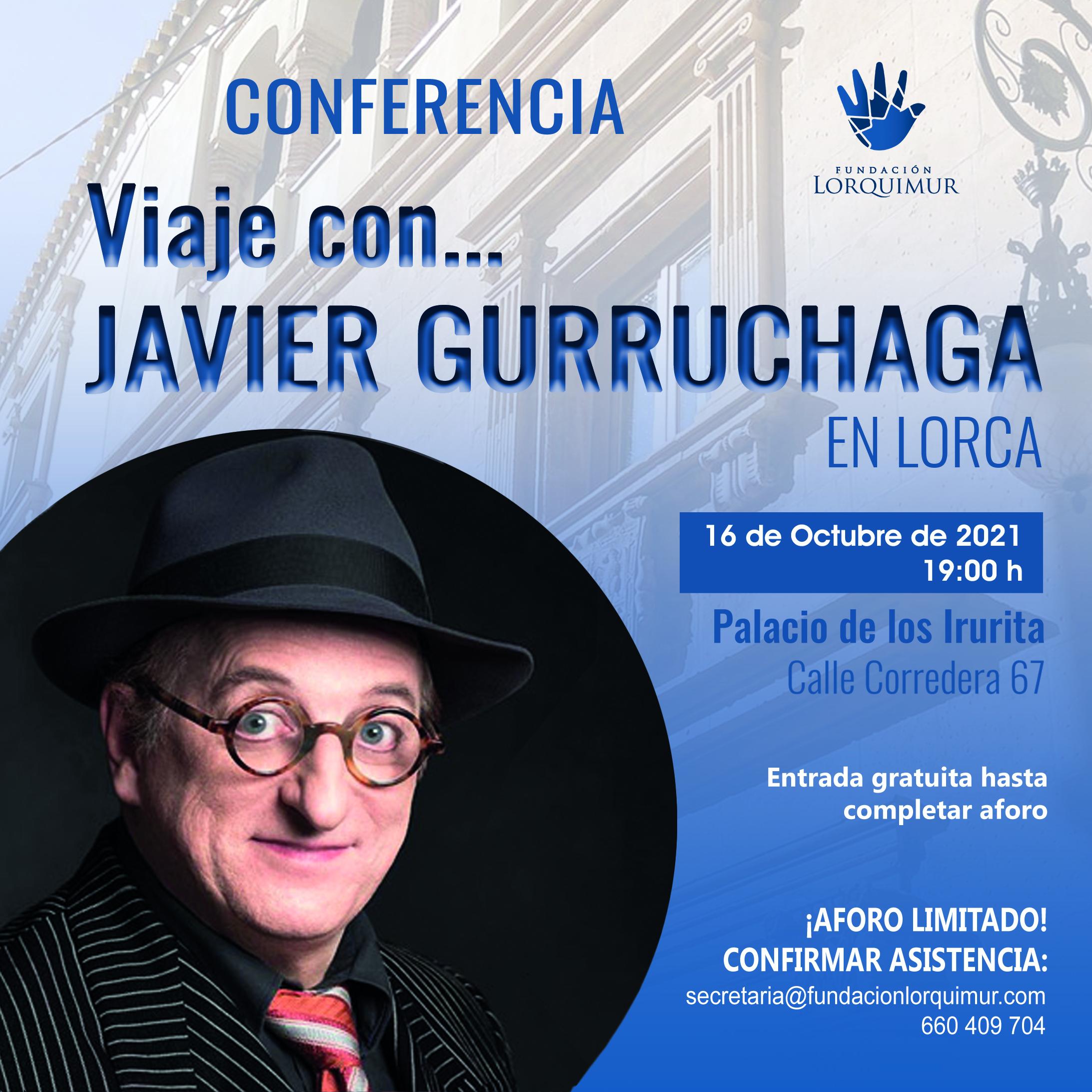 Conferencia Javier Gurruchaga Fundacion lorquimur