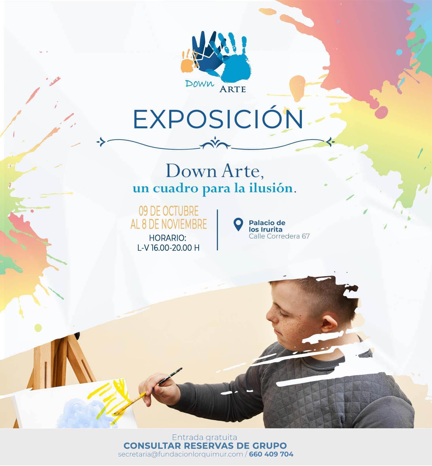 Exposición DownArte Un Cuadro Una Ilusion